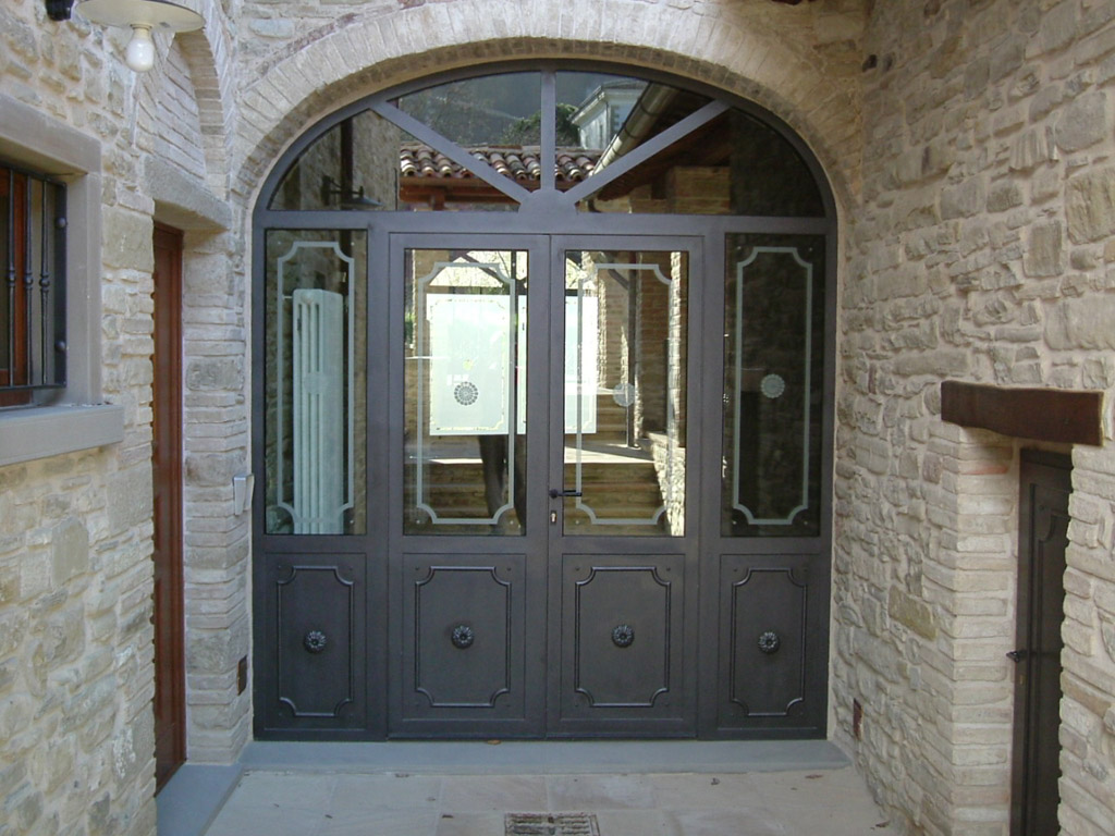 Serramenti in ferro a taglio termico porte finestre giambo a verbania - Finestre a taglio termico ...
