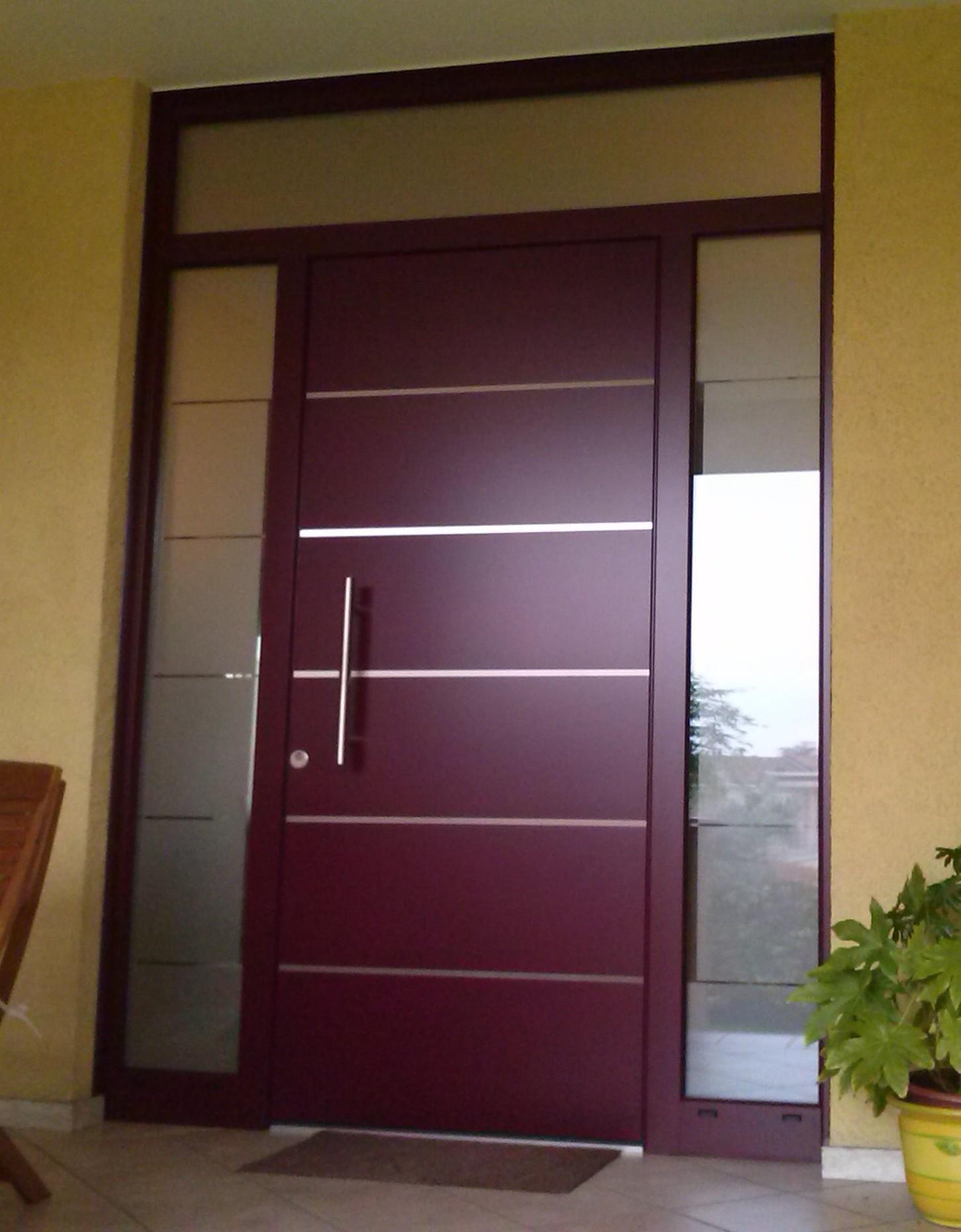 Showroom porte finestre giambo a verbania - Ingresso garage ...